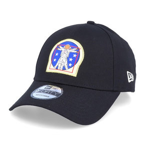 New Era New Era 9Forty ISA Space DaVinci Cap Schwarz