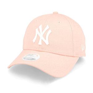 New Era New Era New York Yankees MLB 9Forty Cap Dames Lichtroze