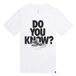Jordan Jordan Do You Know T-Shirt White