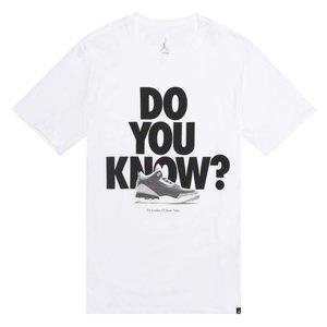 Jordan Jordan Do You Know T-Shirt White