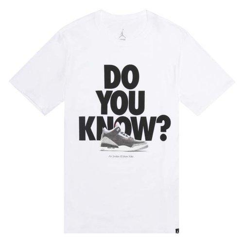 Jordan Jordan Do You Know T-Shirt weiß