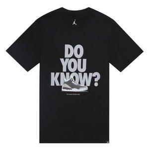 Nike Nike Do You Know T-Shirt Zwart