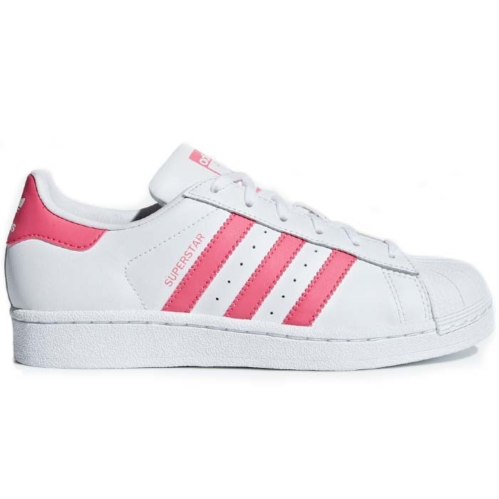 Adidas Superstar Wit Roze | Burned Sports