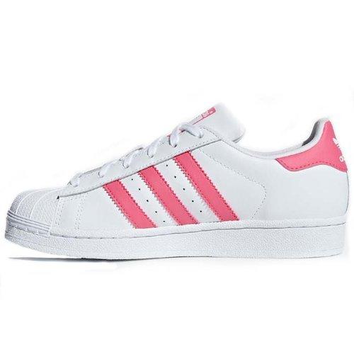 Adidas Original Adidas Superstar Wit Roze
