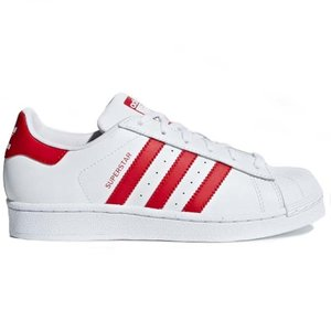 Adidas Original Adidas Superstar Wit Rood