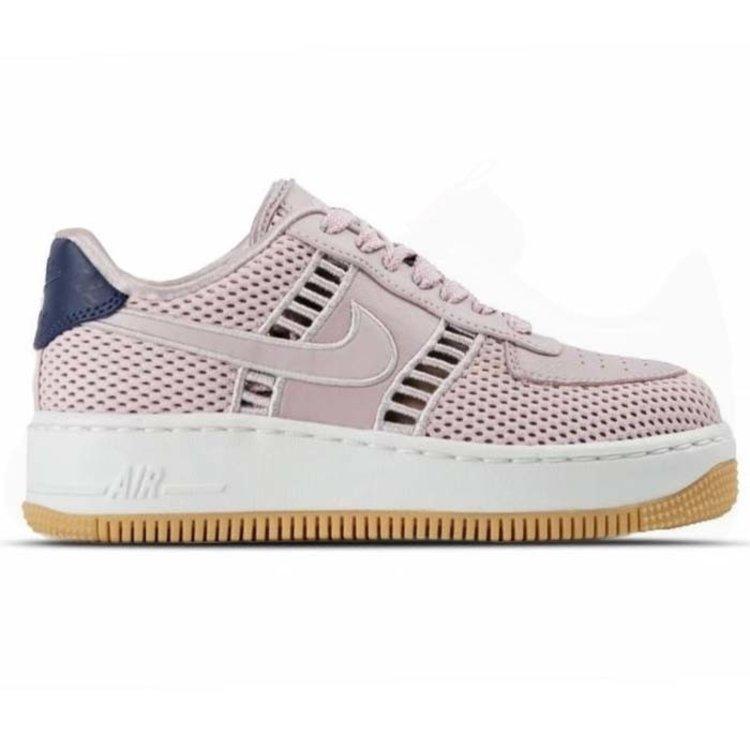 Nike Nike Air Force 1 Upstep Grau Gummi