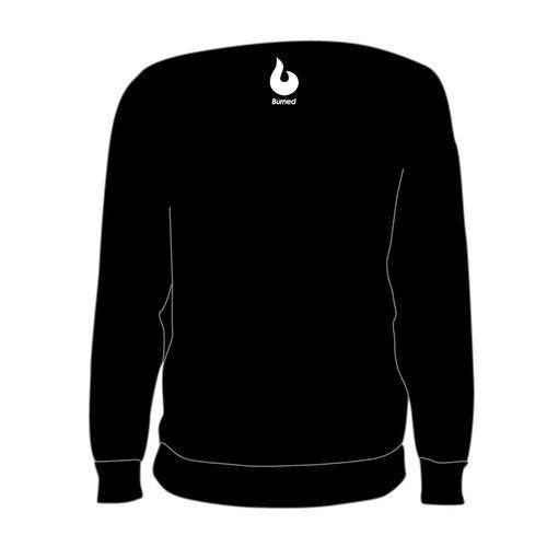 Burned Teamwear O.B.C. Oss Crewneck Tekst Zwart