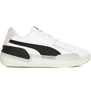 Puma Basketball Puma Clyde Hardwood White Black