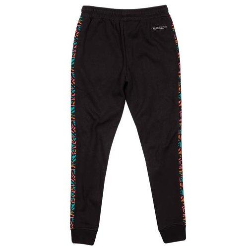 Mitchell & Ness Mitchell & Ness San Antonio Spurs Stripe Pants schwarz