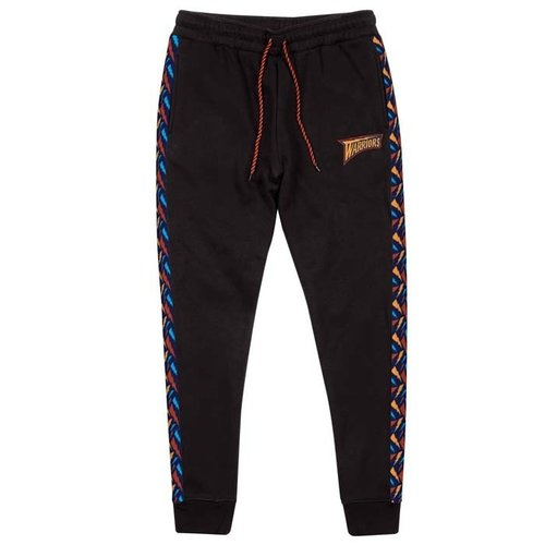 Mitchell & Ness Mitchell & Ness Golden State Warriors Stripe Pants schwarz