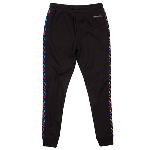 Mitchell & Ness Mitchell & Ness Golden State Warriors Stripe Pants schwarz