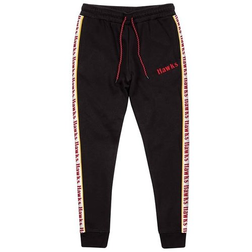 Mitchell & Ness Mitchell & Ness Atlanta Hawks Stripe Pants Black