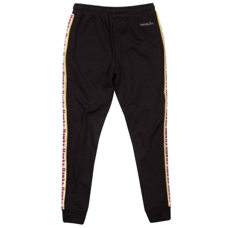 Mitchell & Ness Mitchell & Ness Atlanta Hawks Stripe Pants schwarz