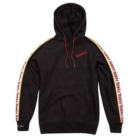 Mitchell & Ness Atlanta Hawks Stripe Hoodie Zwart