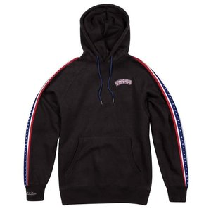 Mitchell & Ness Mitchell & Ness Philadelphia 76ers Stripe Hoodie Zwart
