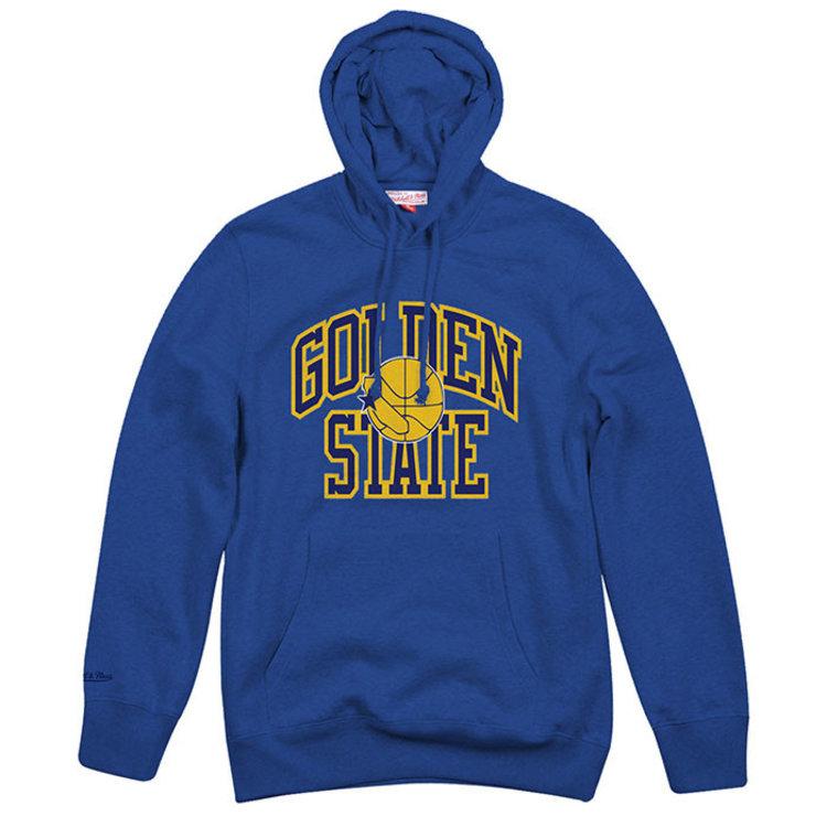 Mitchell & Ness Mitchell & Ness Golden State Warriors Hoodie blau