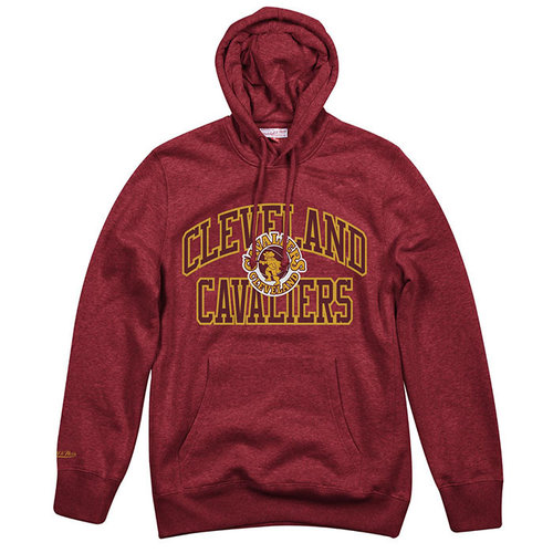 Mitchell & Ness Mitchell & Ness Cleveland Cavaliers Hoodie Red