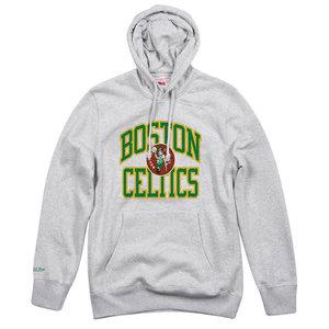 Mitchell & Ness Mitchell & Ness Boston Celtics Hoodie Grey