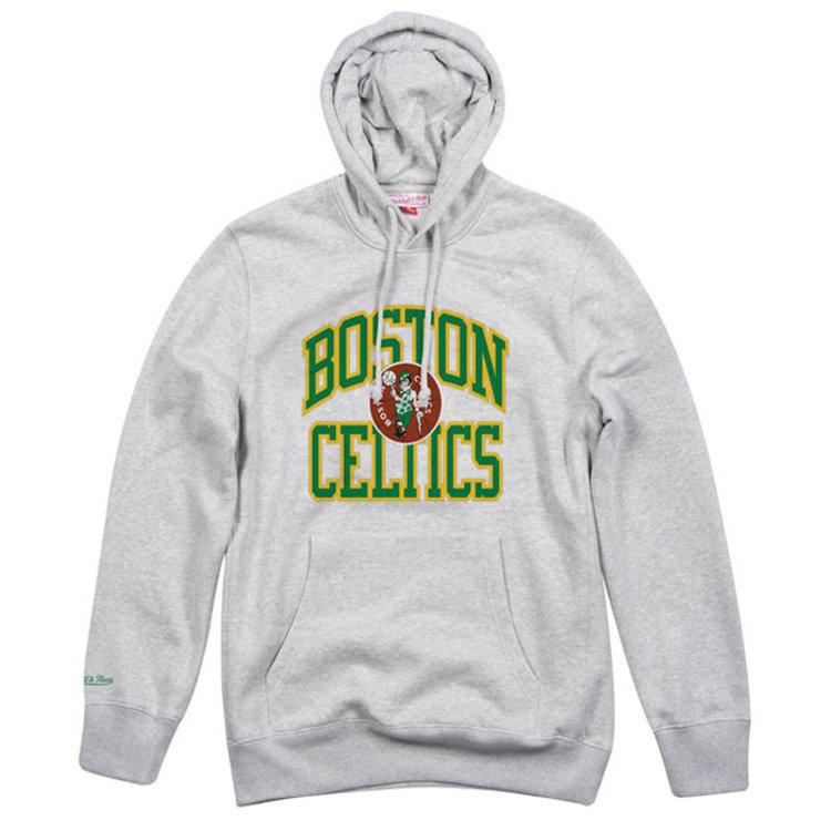 Mitchell & Ness Mitchell & Ness Boston Celtics Hoodie grau