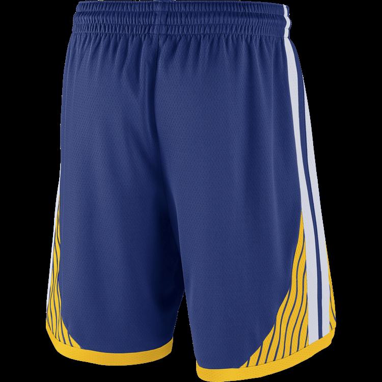 Nike Basketball Nike NBA Golden State Warriors Swingman Road Shorts