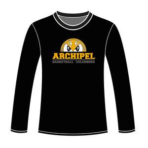 Burned Teamwear Archipel Culemborg Longsleeve Logo Zwart