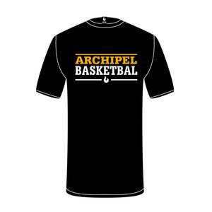 Burned Teamwear Archipel Culemborg Shooting Shirt Tekst Zwart