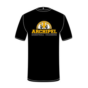 Burned Teamwear Archipel Culemborg Shooting Shirt Logo Zwart