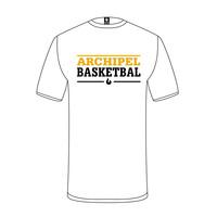 Archipel Culemborg T-shirt Tekst Wit