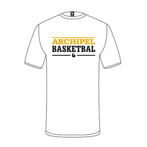 Burned Teamwear Archipel Culemborg T-shirt Tekst Wit