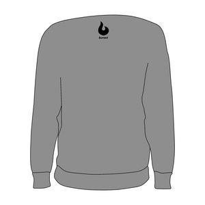 Burned Teamwear Archipel Culemborg Crewneck Tekst Grijs