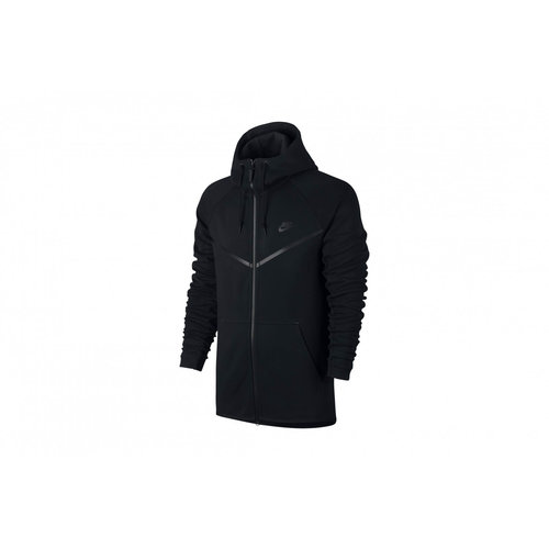 Nike Nike Tech Fleece Windrunner Hoodie Schwarz