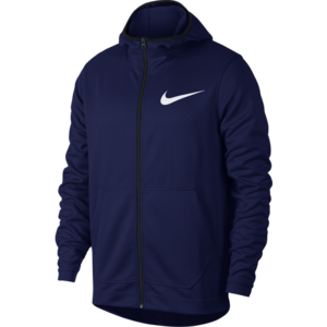 Nike Nike Dri-Fit Full Zip Hoodie Blau