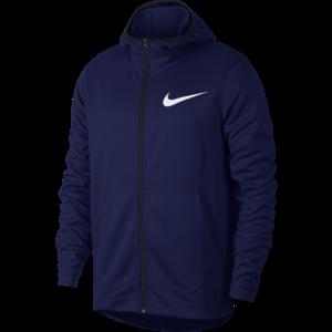 Nike Nike Dri-Fit Full Zip Hoodie Blauw
