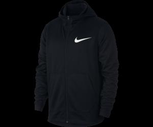 Nike Nike Dri Fit Full Zip Hoodie Schwarz
