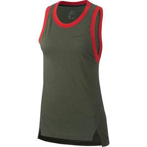 Nike Nike Elite Woman Basketball Tank Top Khaki Dri-Fit