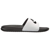 Nike Benassi Just Do It Wit Zwart