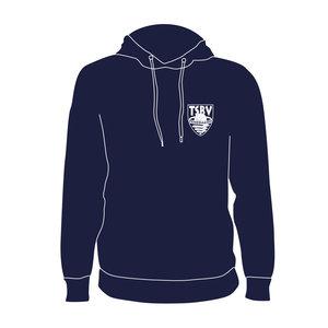 Burned Teamwear T.S.B.V. Pendragon Hoodie Logo Klein Navy