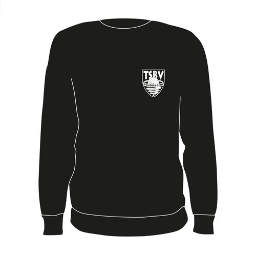 Burned Teamwear T.S.B.V. Pendragon Crewneck Zwart