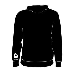 Burned Teamwear T.S.B.V. Pendragon Hoodie Logo Klein Zwart