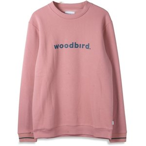 Woodbird Woodbird Mufti Karl Crewneck Roze