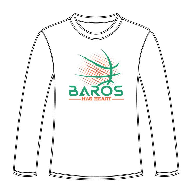 Burned Teamwear EBV Baros Longsleeve Has Heart Wit