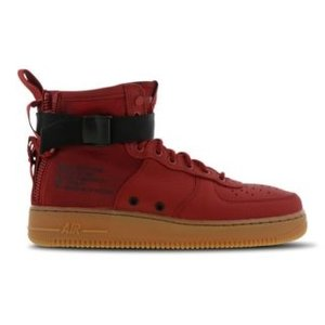 Nike Nike Special Force 1 Mid Rot Gummi