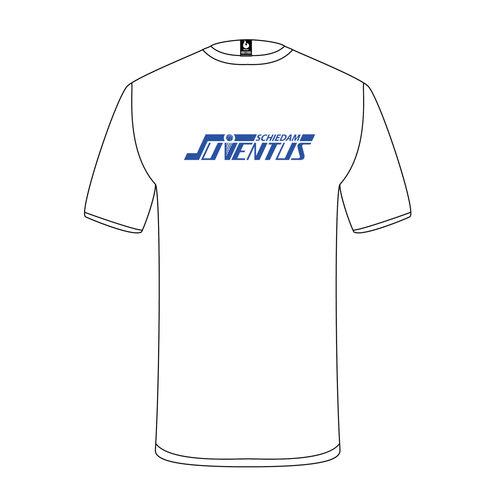 Burned Teamwear S.B.V. Juventus t-Shirt Logo Wit