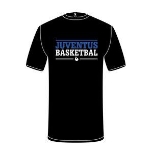 Burned Teamwear S.B.V. Juventus t-Shirt Tekst Zwart