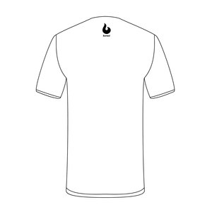 Burned Teamwear S.B.V. Juventus t-Shirt Tekst Wit