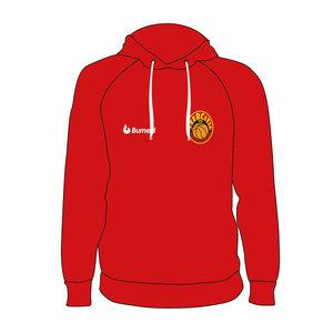 Burned Teamwear BV Exercitia'73 Hoodie Rood