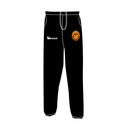 Burned Teamwear BV Exercitia'73 Jogging Broek Zwart