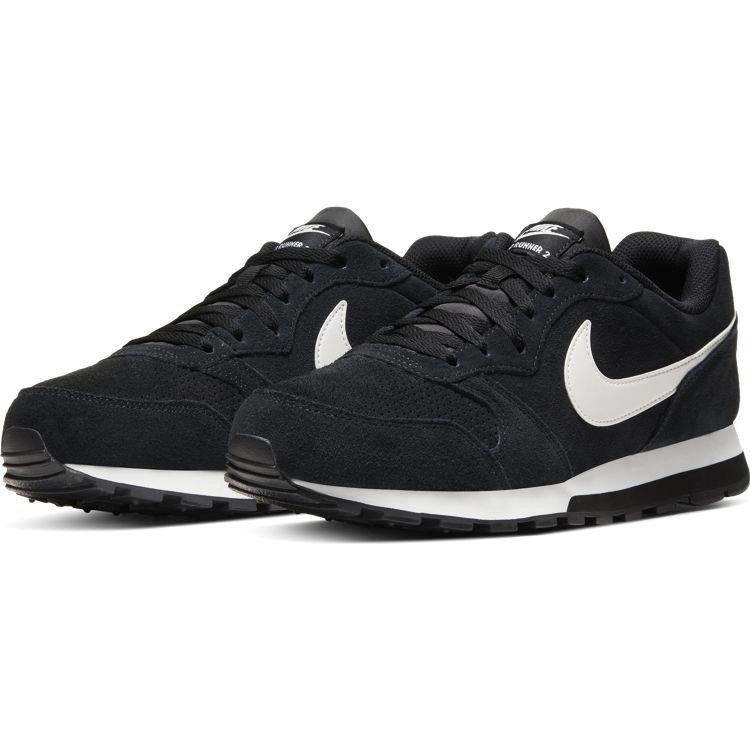 Nike Nike MD Runner 2 Suede Black White