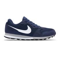 Nike MD Runner 2 Suede dunkelblau weiß