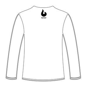 Burned Teamwear EBV Baros Longsleeve Tekst Wit